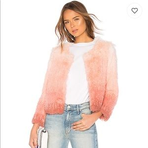 MOTHER The Boxy Faux Fur Shaggy Jacket